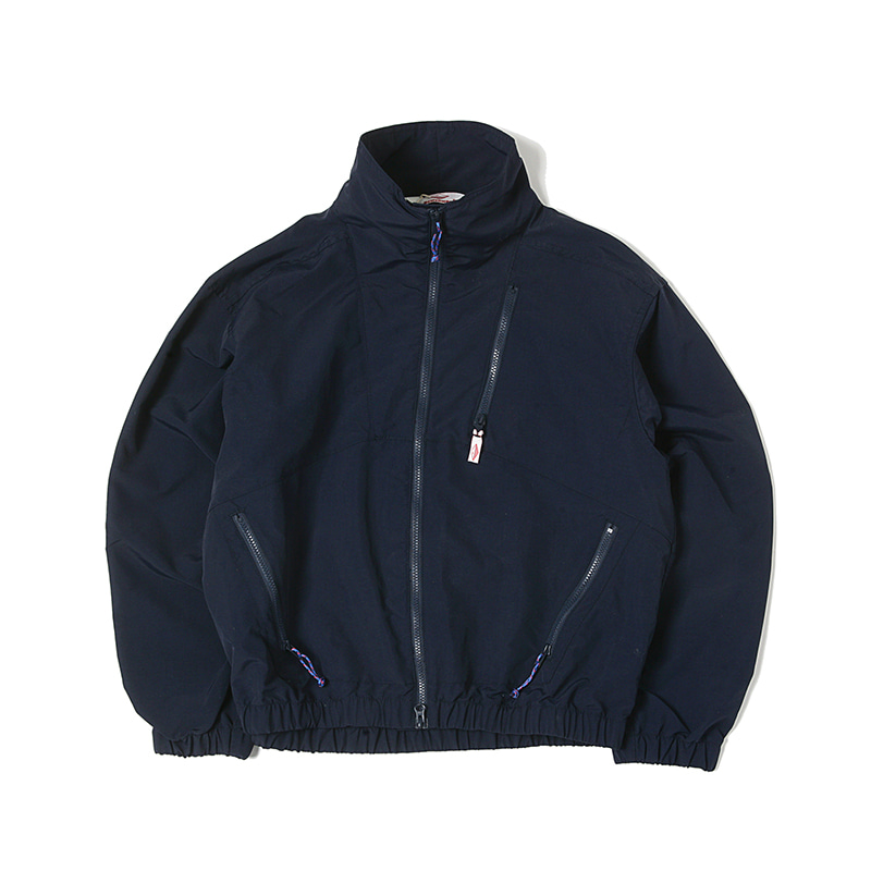 NYLON JUMP JACKET - NAVY