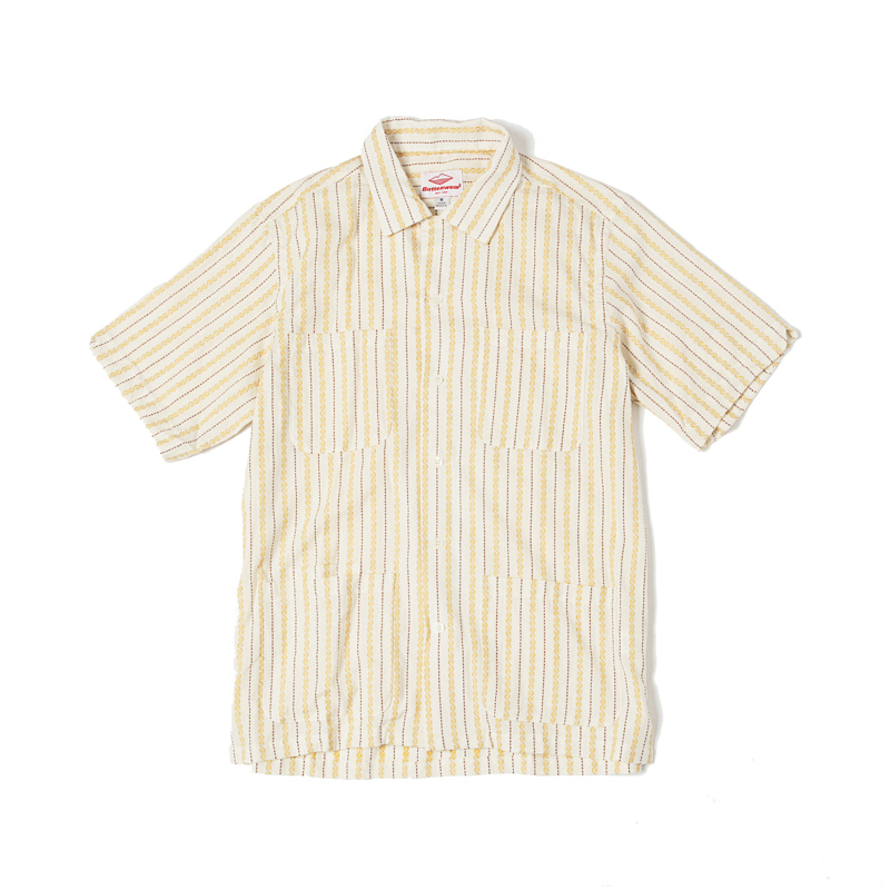 FIVE POCKET ISLAND SHIRT - IVORY / JQD