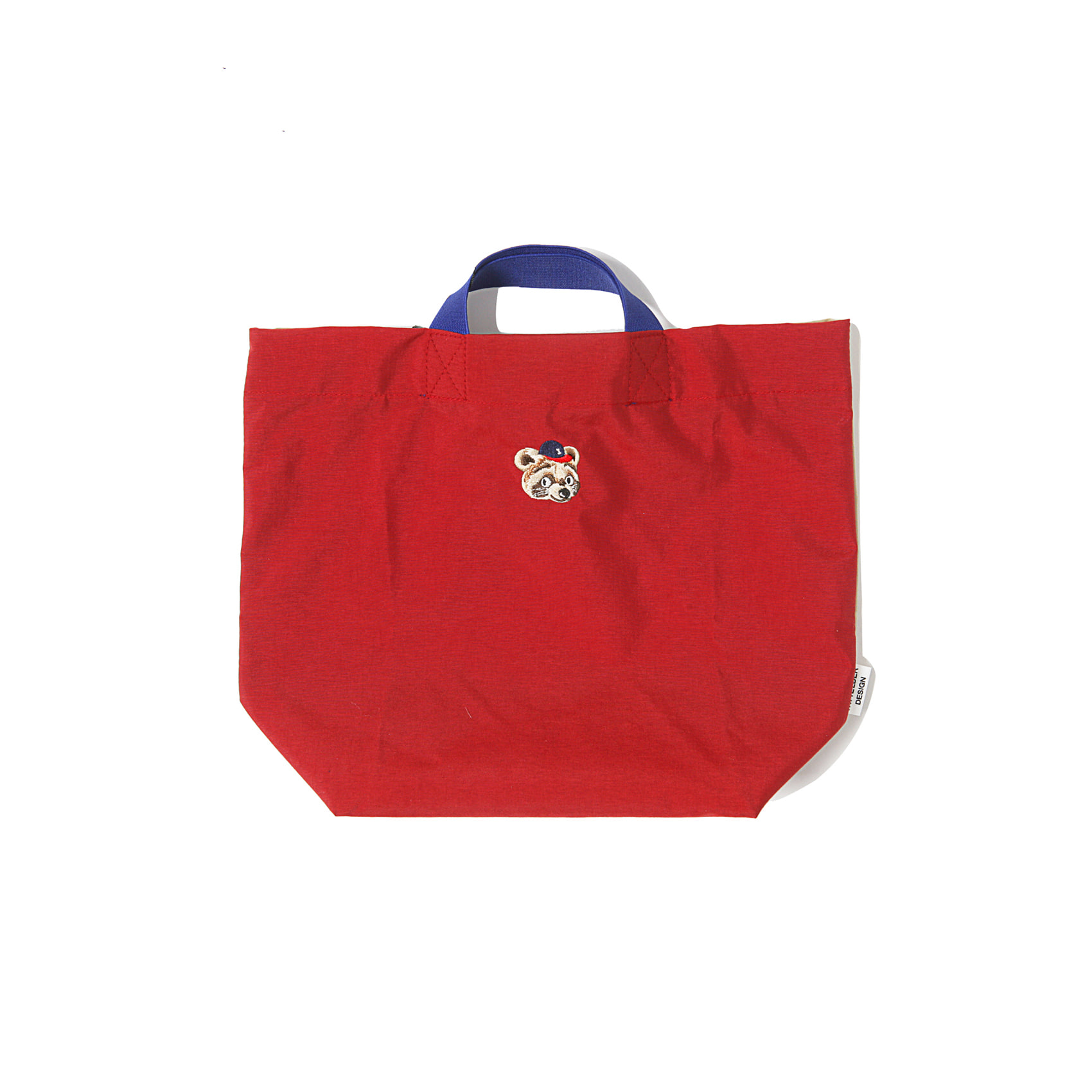CHA CHA BAG - RED X BEIGE
