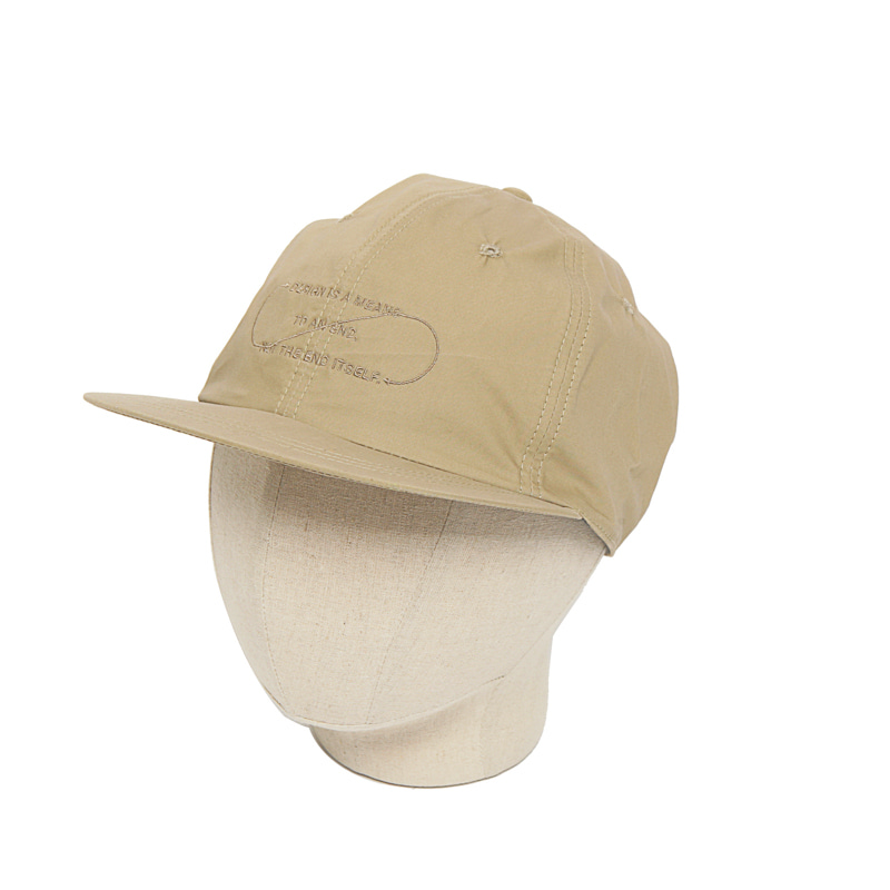 COTTON B.B CAP - BEIGE