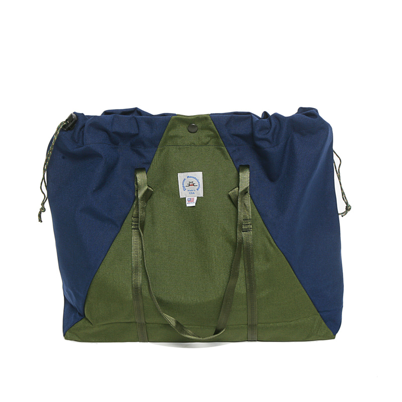 LARGE CAMP TOTE - MOSS/MIDNIGHT