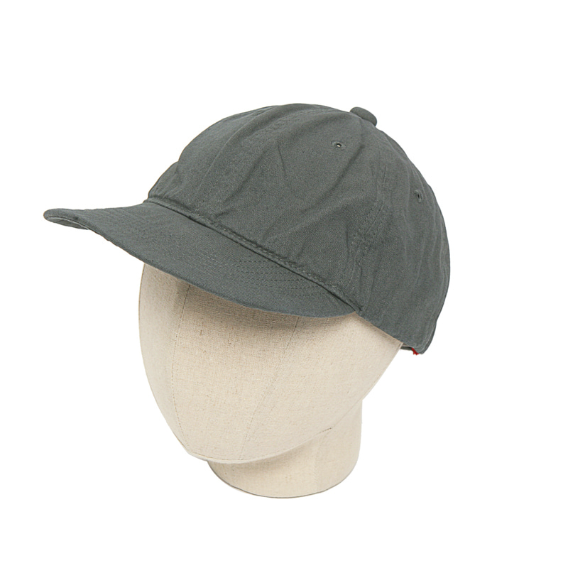 COTTON CAP - BLACK