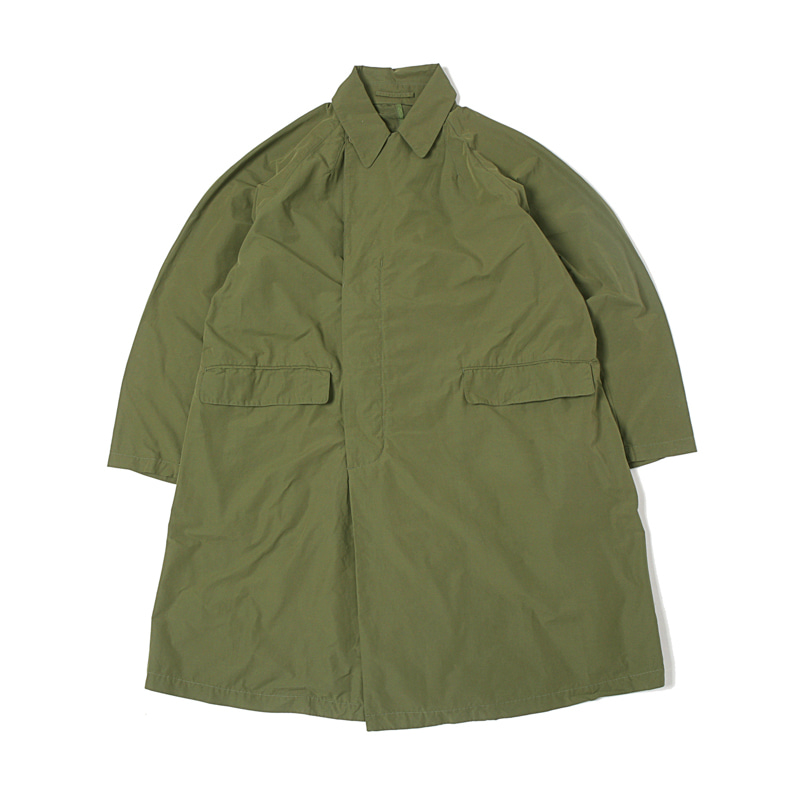 HIGHEST PACKABLE TRENCH COAT - SAGE GREEN