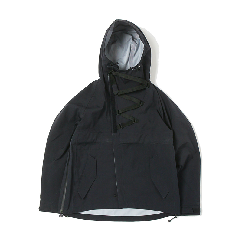 3 LAYER ANORAK OP - BLACK