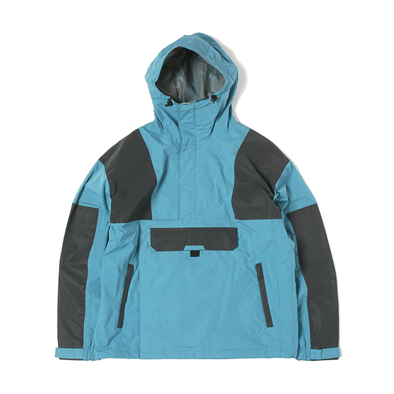 EQUIPMENT ANORAK PARKA - SMOKEY BLUE