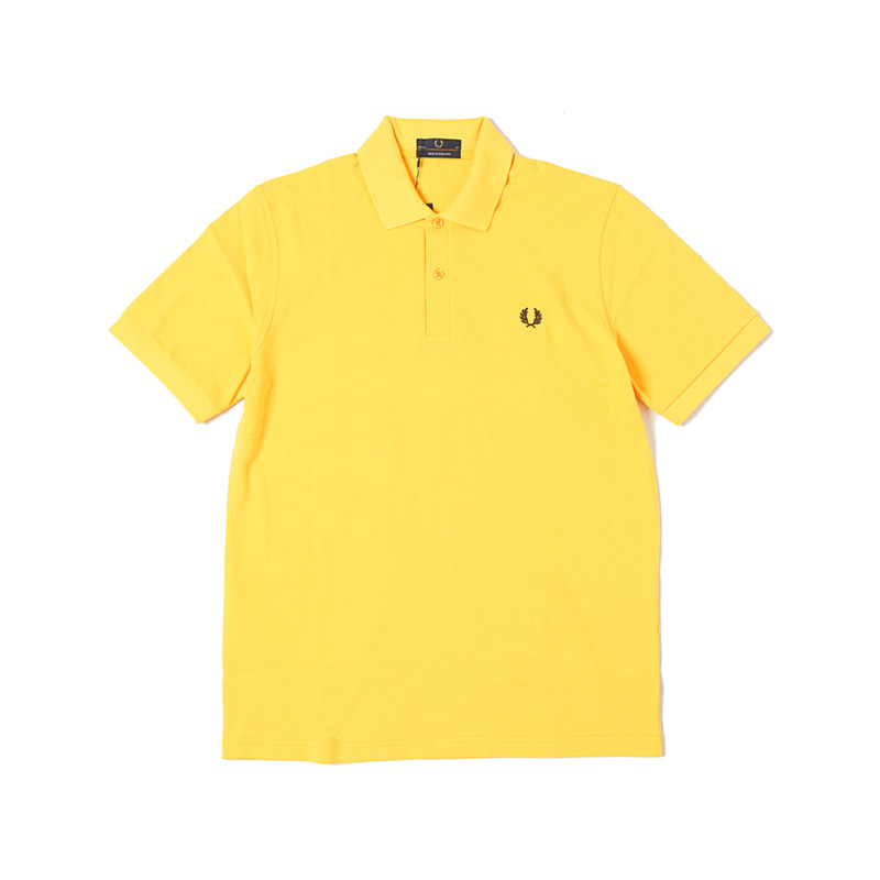 THE ORIGINAL FRED PERRY SHIRTS - MAIZE