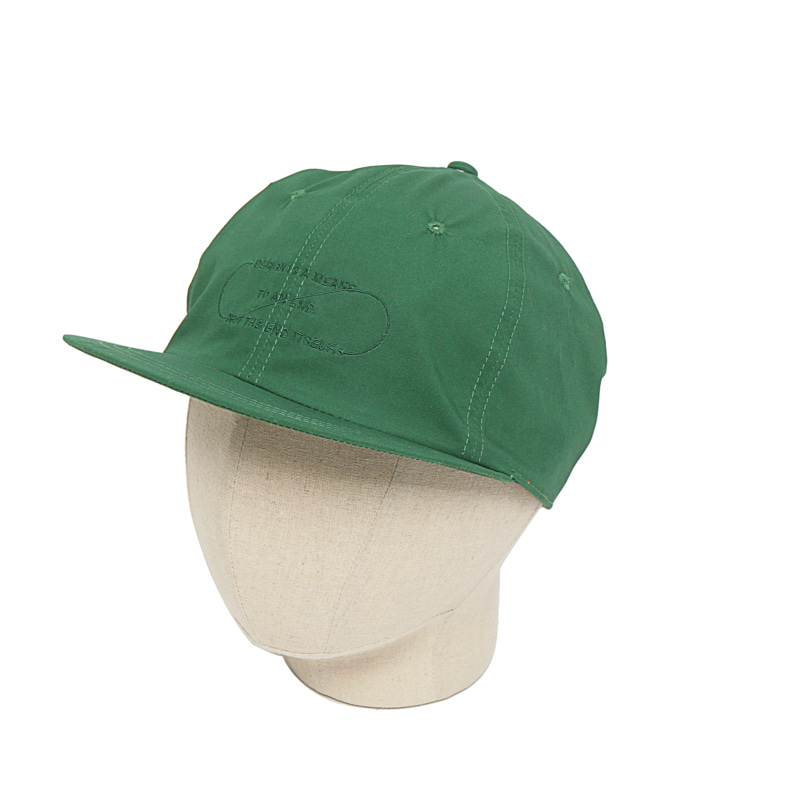 COTTON B.B CAP - GREEN