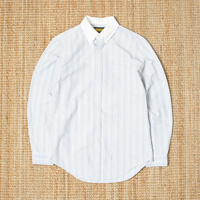 RUGBY CONTRAST COLLAR BUTTON DOWN SHIRTS