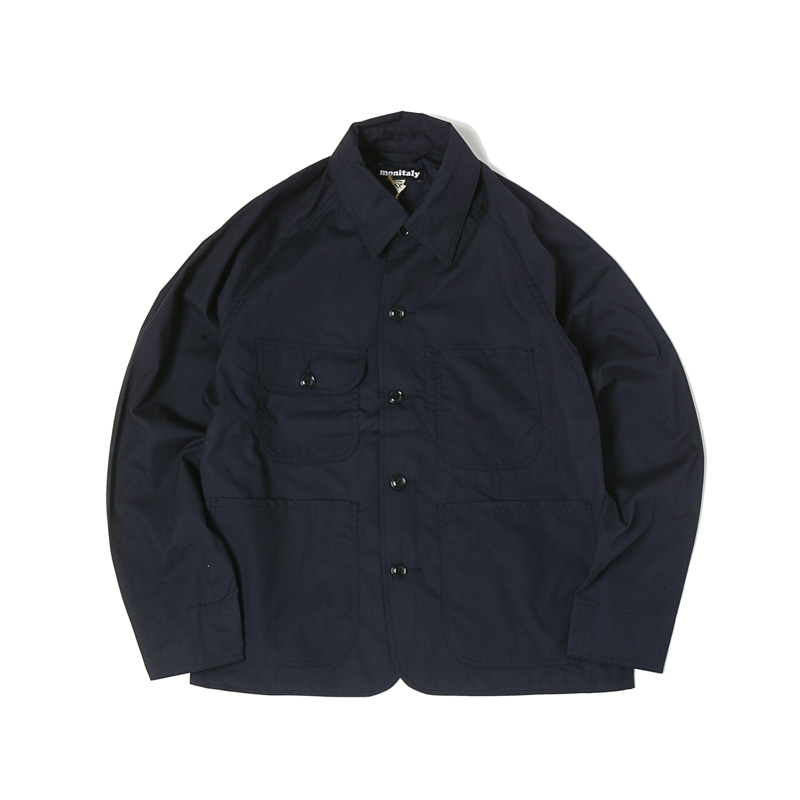 CROPPED COVERALL - VANCLOTH OXFORD NAVY