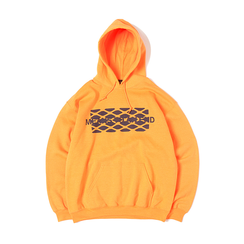 HIDDEN PRINT PARKA X RAY MASAKI - S.ORANGE