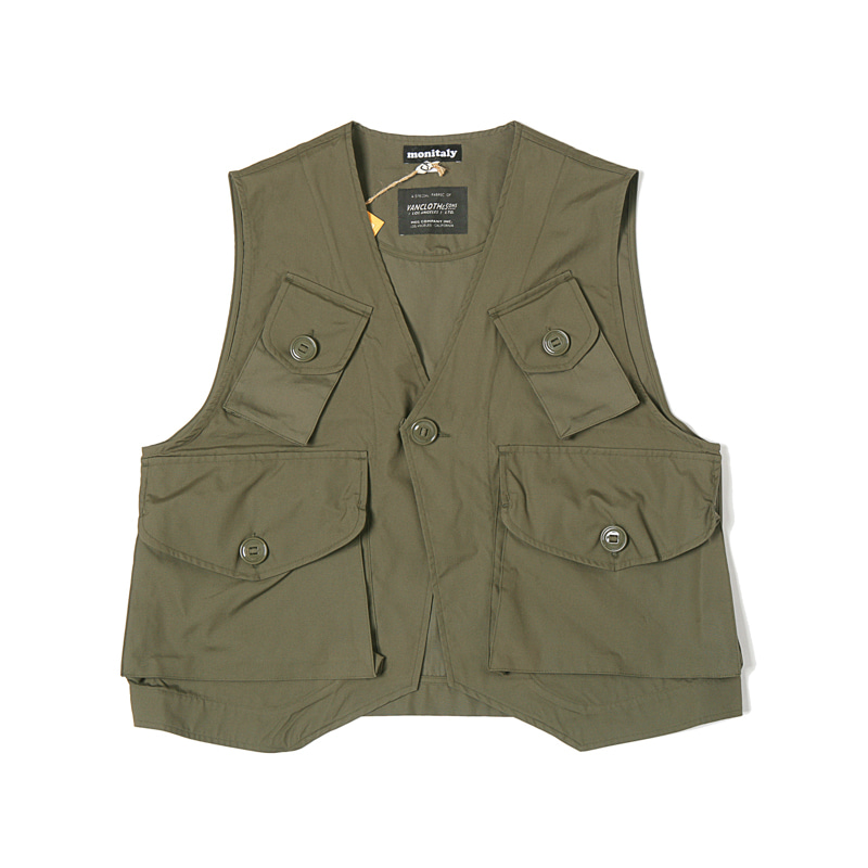 MILITARY VEST TYPE C - VANCLOTH OXFORD OLIVE