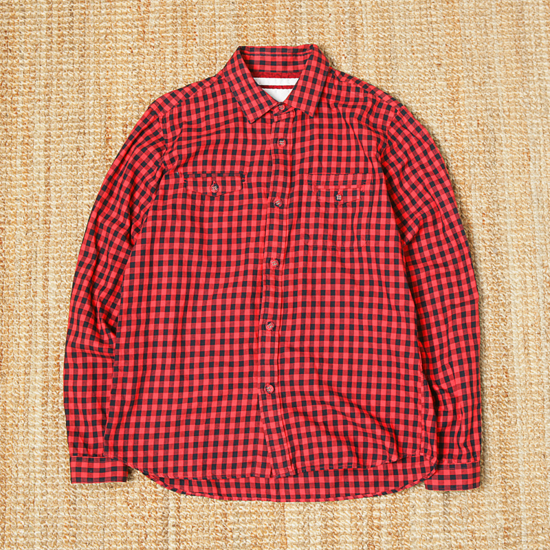 WHITE MOUNTAINEERING CHECK SHIRTS