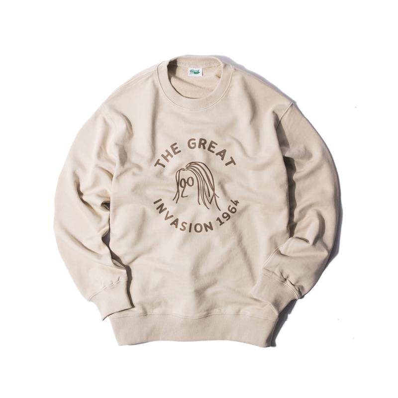 COLLEGE COLLECTION LENNON SWEAT SHIRTS - IVORY