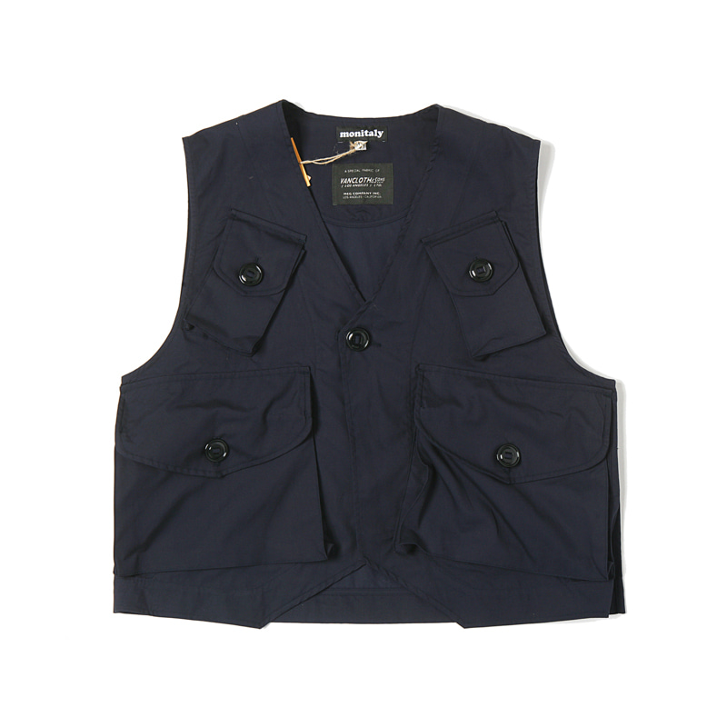 MILITARY VEST TYPE C - VANCLOTH OXFORD NAVY