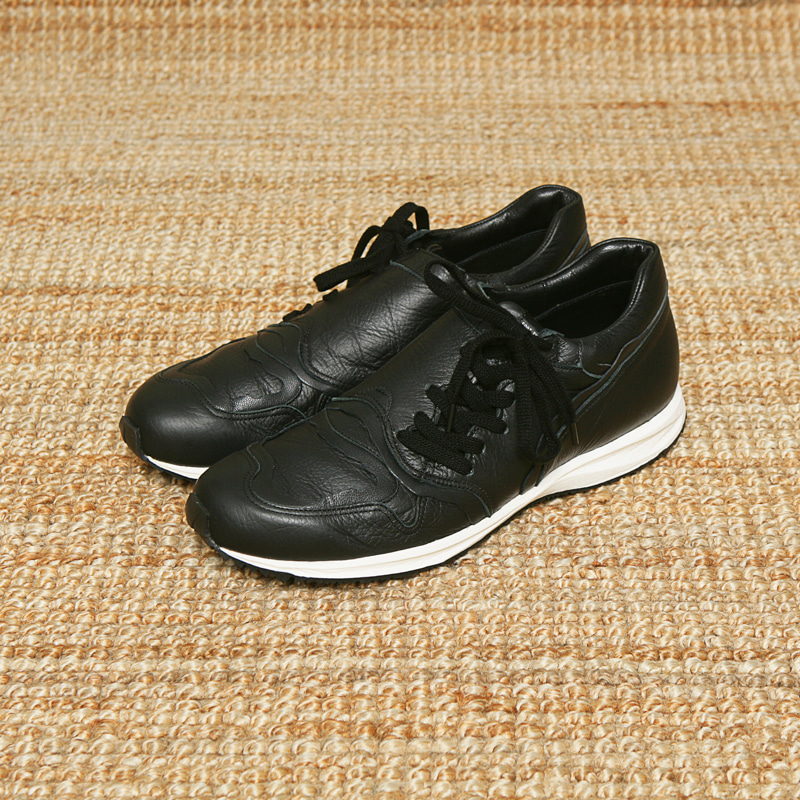 FOOT THE COACHER SNEAKERS - BLACK