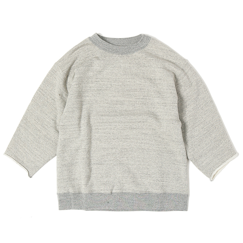 CUT OFF SWEATSHIRTS - GREY