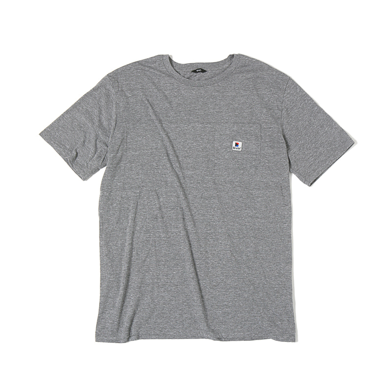 STOWELL S/S TEE - HEATHER GREY
