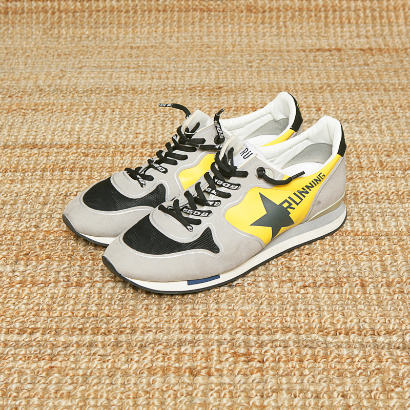 GOLDEN GOOSE SNEAKERS - YELLOW
