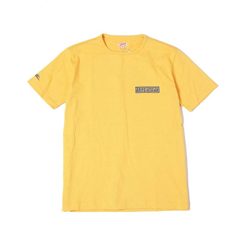 VALLIN JERSEY TEE - YELLOW