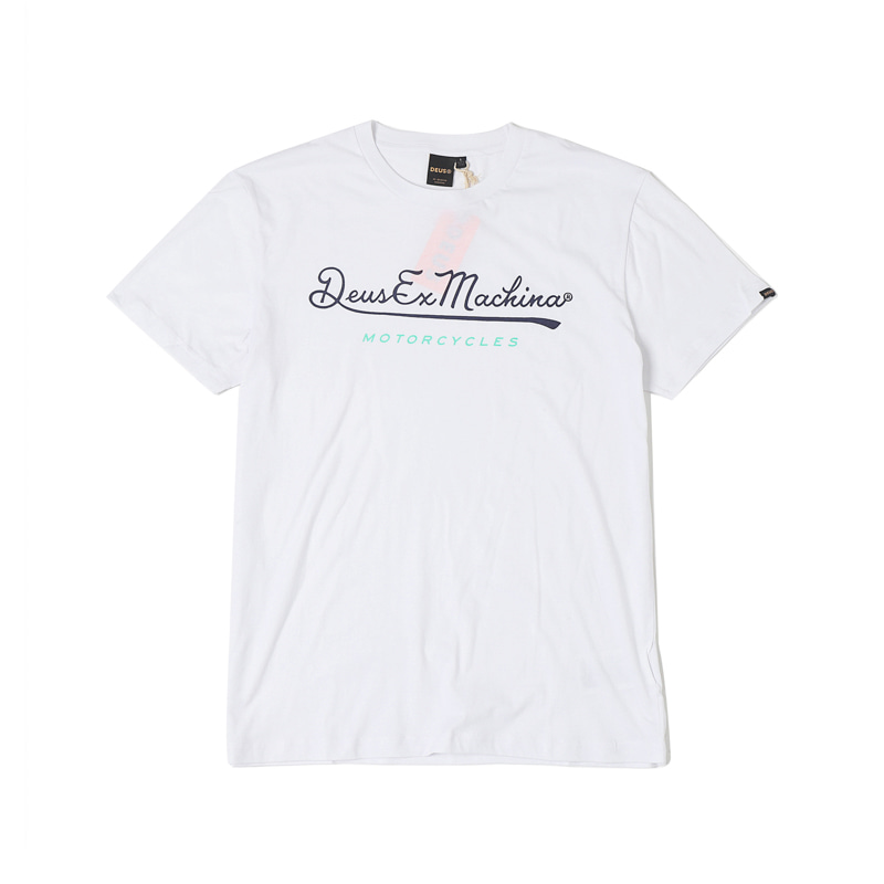 2ND BASE TEE -WHITE