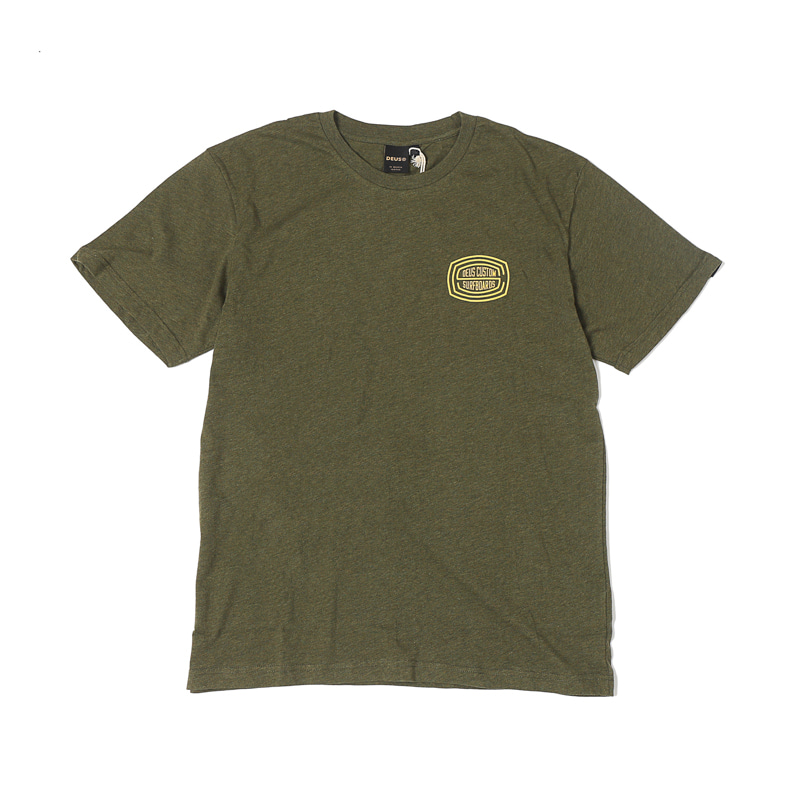 PRESS TEE - LEAF MARLE