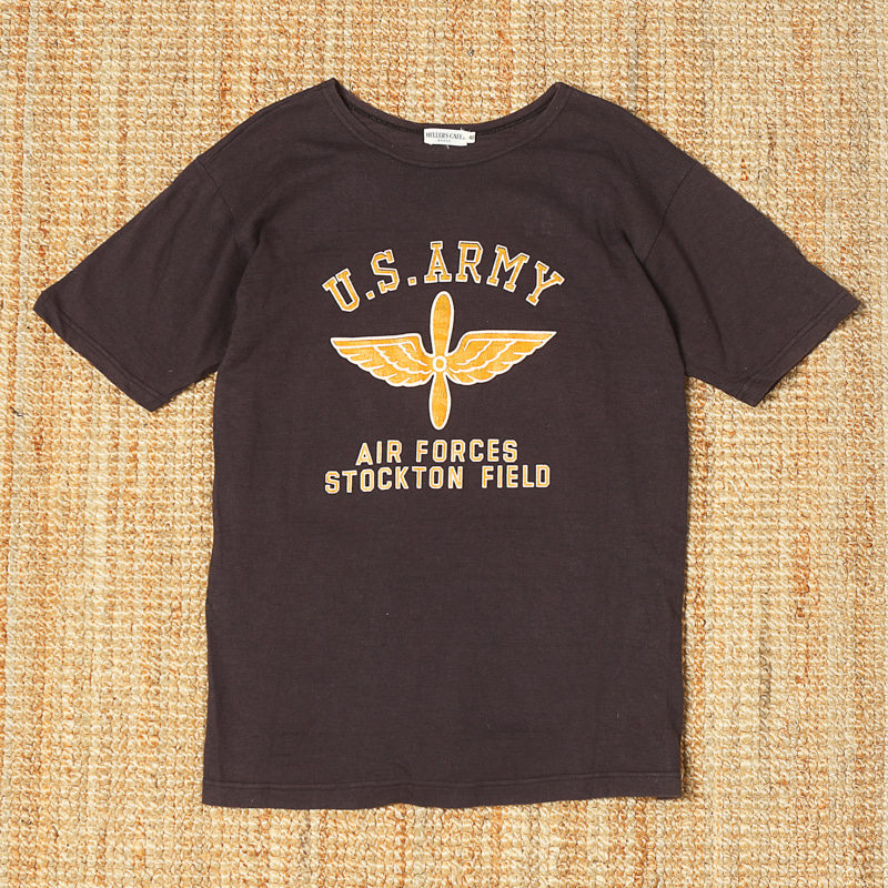 HELLER'S CAFE MILITARY SS TEE