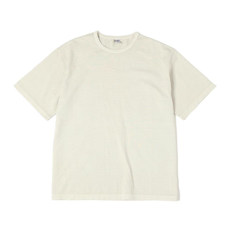 G.D. SOLID S/S TEE - NATURAL