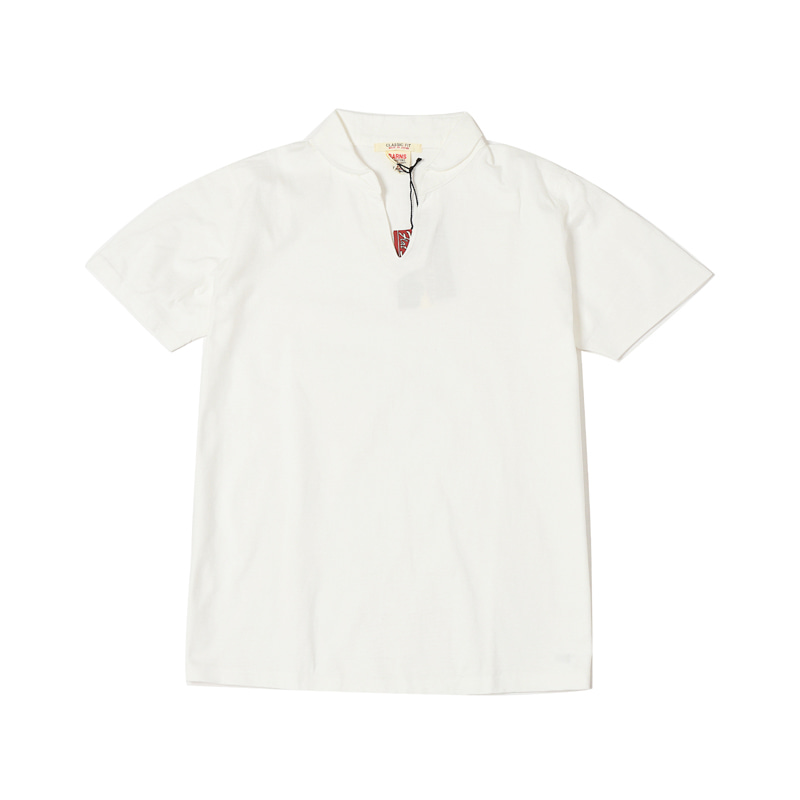 SKIPPER S/S TEE - WHITE