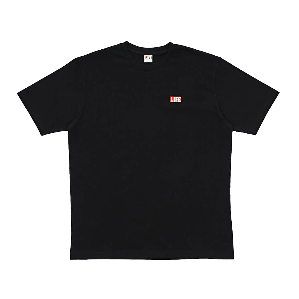 SMALL LOGO T-SHIRT - BLACK