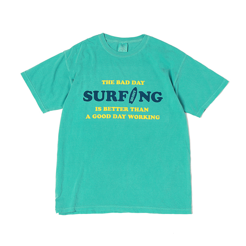 BAD DAY SURFING S/S T-SHIRTS - LAGOON BLUE