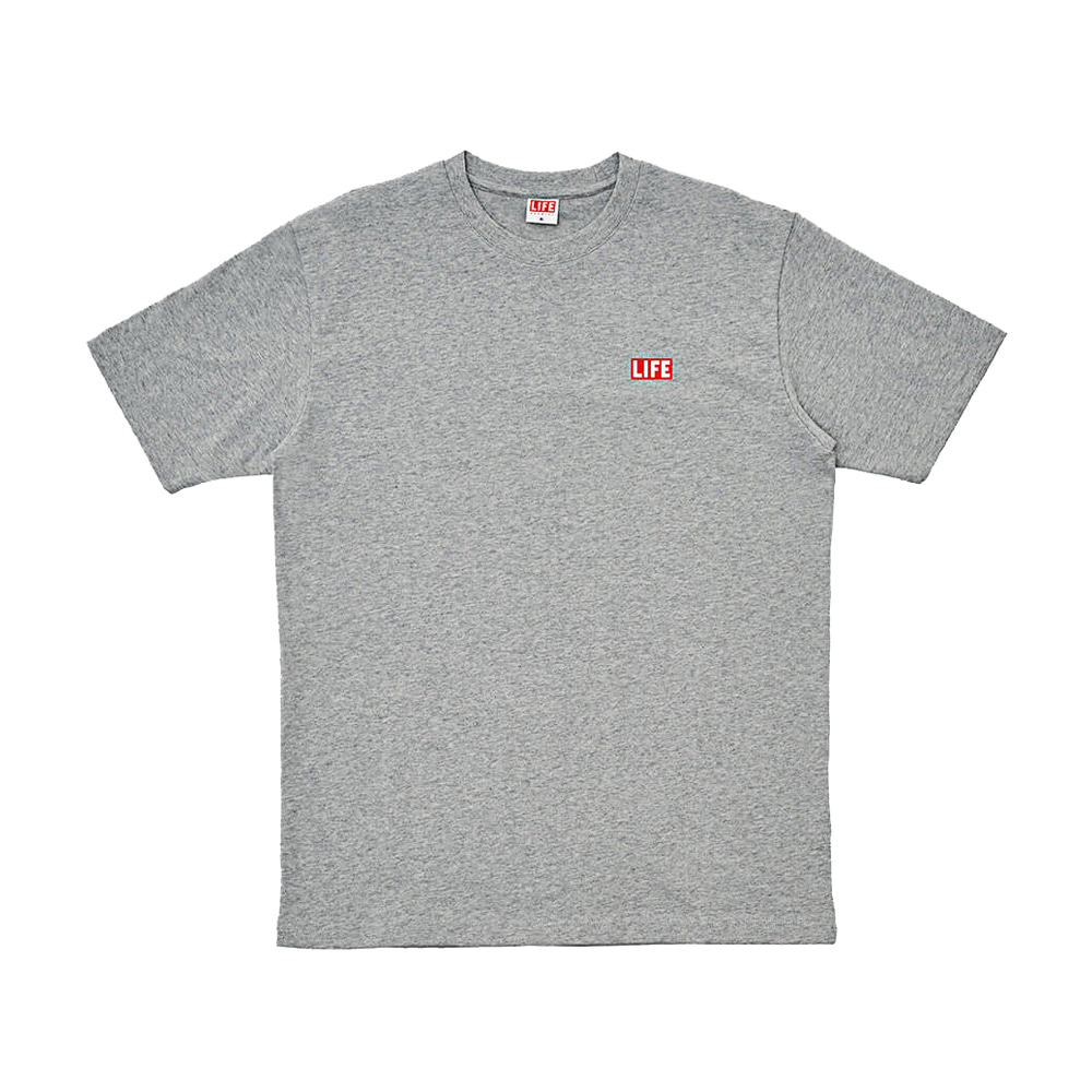 SMALL LOGO T-SHIRT - GREY
