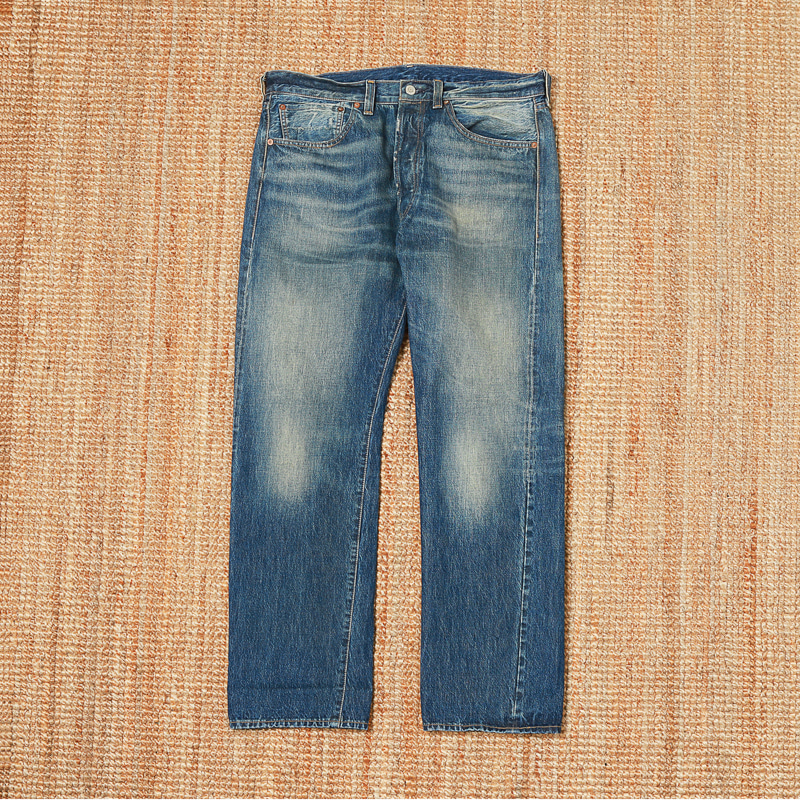 LEVIS VINTAGE CLOTHING 47501 USED DENIM