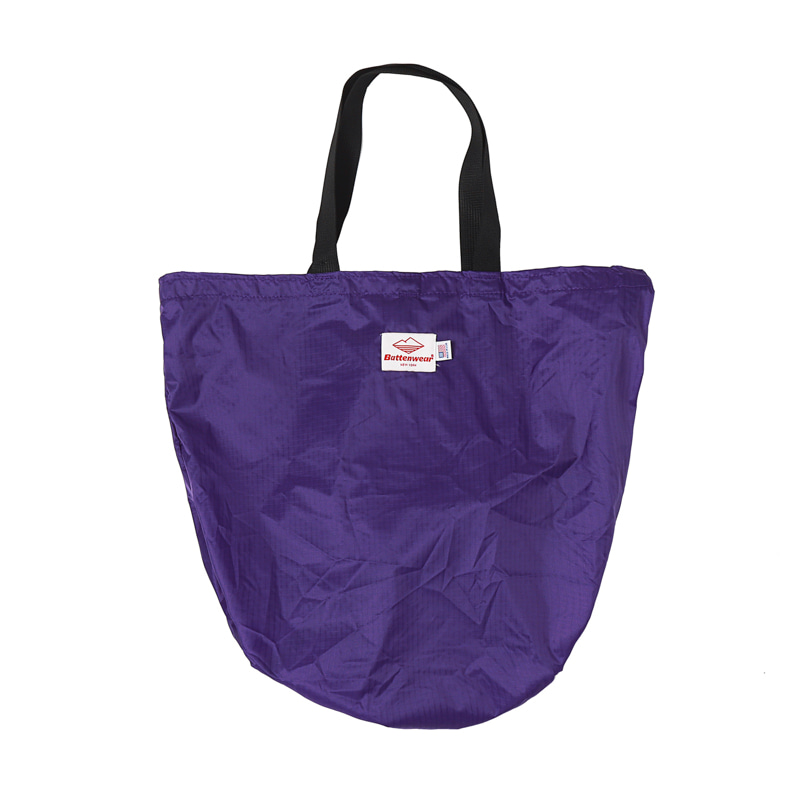 PACKABLE TOTE BAG - PURPLE