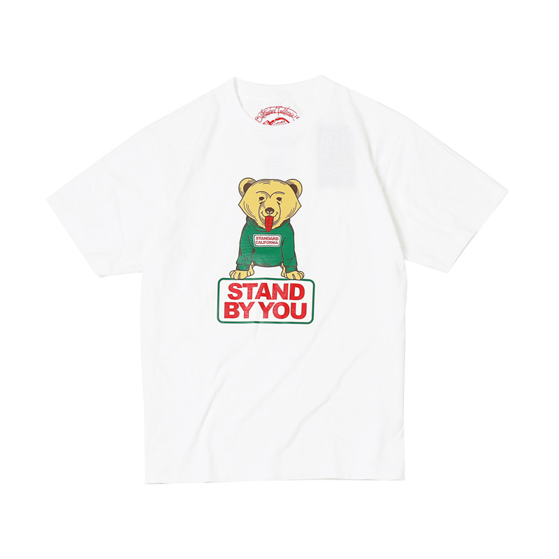 STAND BY YOU TEE - WHITE