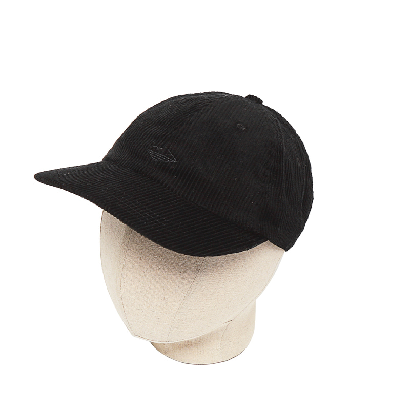 FIELD CAP - BLACK CORDUROY