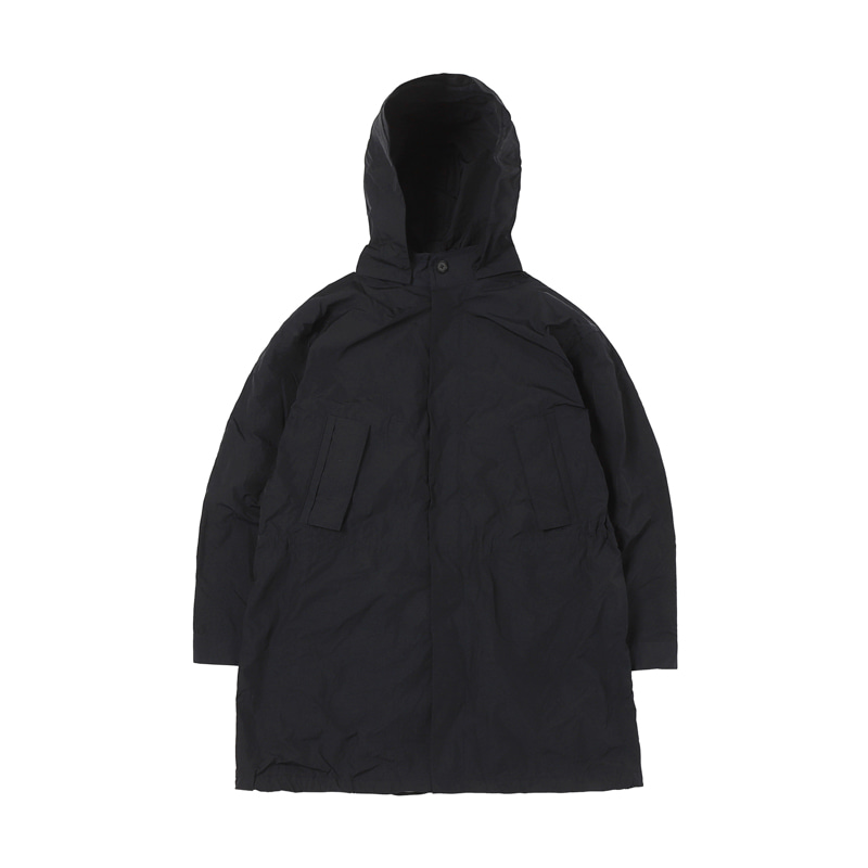 DETACHABLE LINING COAT - NAVY