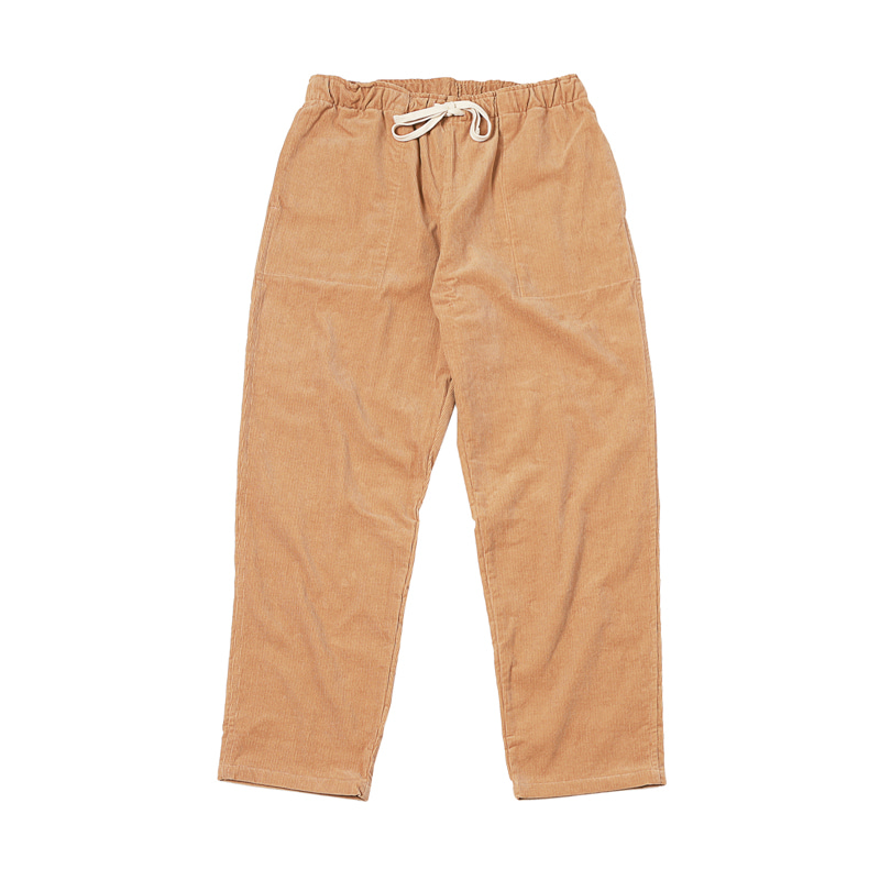 ACTIVE LAZY CORDUROY PANTS - TOAST