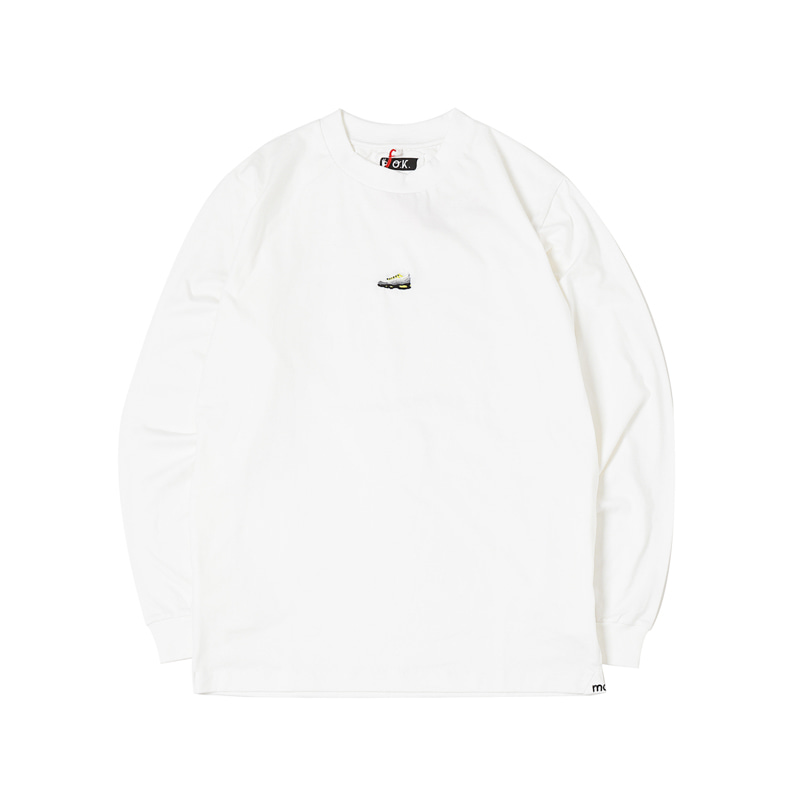 AIR MAX 95 MINI L/S TEE - WHITE