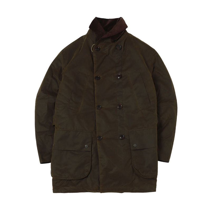 ENGINEERED GARMENT MACKINAW WAX JACKET - OLIVE