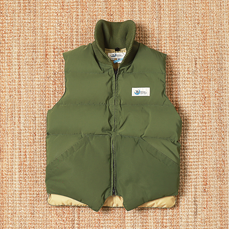 CRESCENT DOWN WORKS VEST