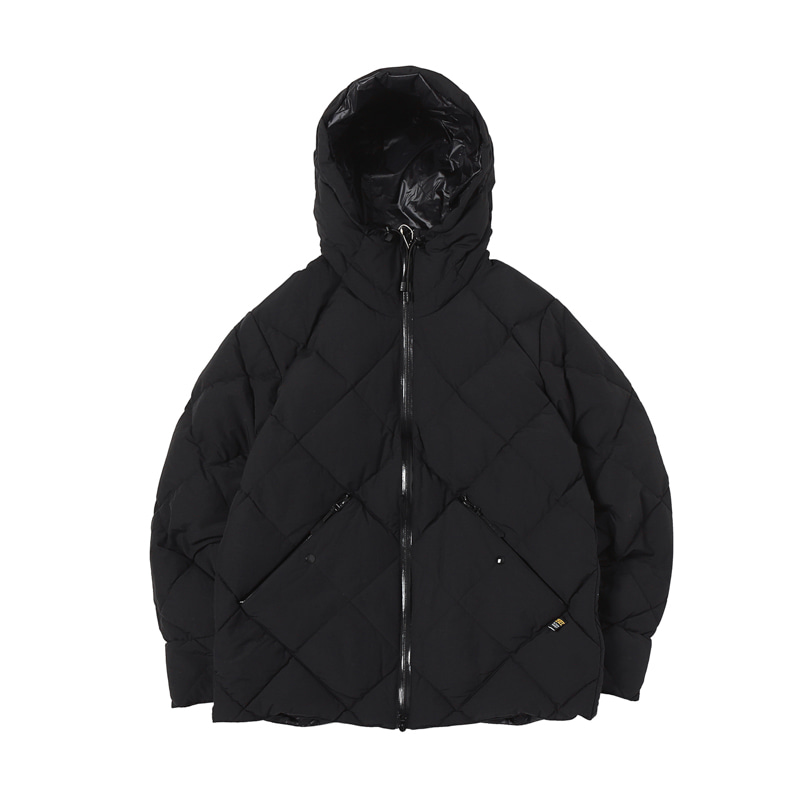 COMFY DOWN JACKET - BLACK