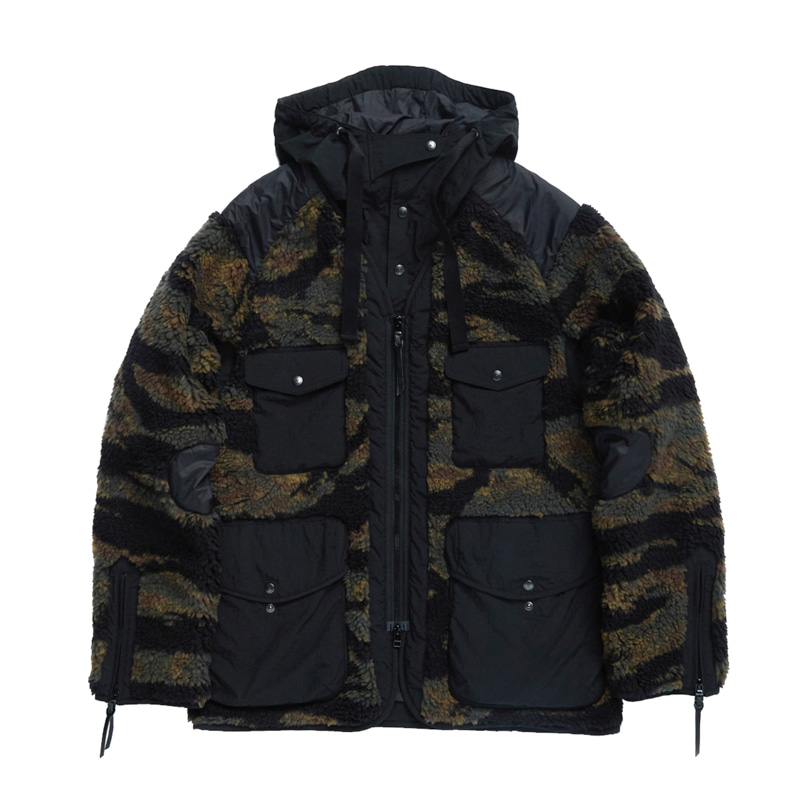 TRAVELER JACKET - TIGER CAMO FLEECE