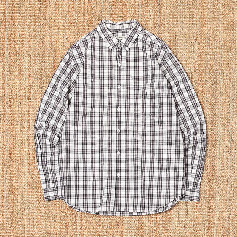 STEVEN ALAN CHECK SHIRTS