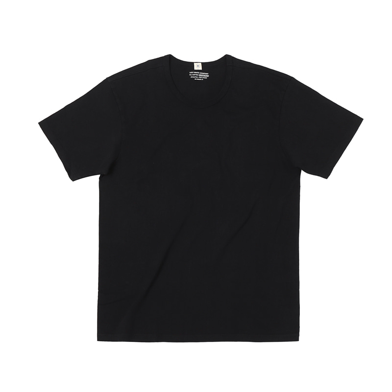 OUR WHITE T-SHIRTS - BLACK