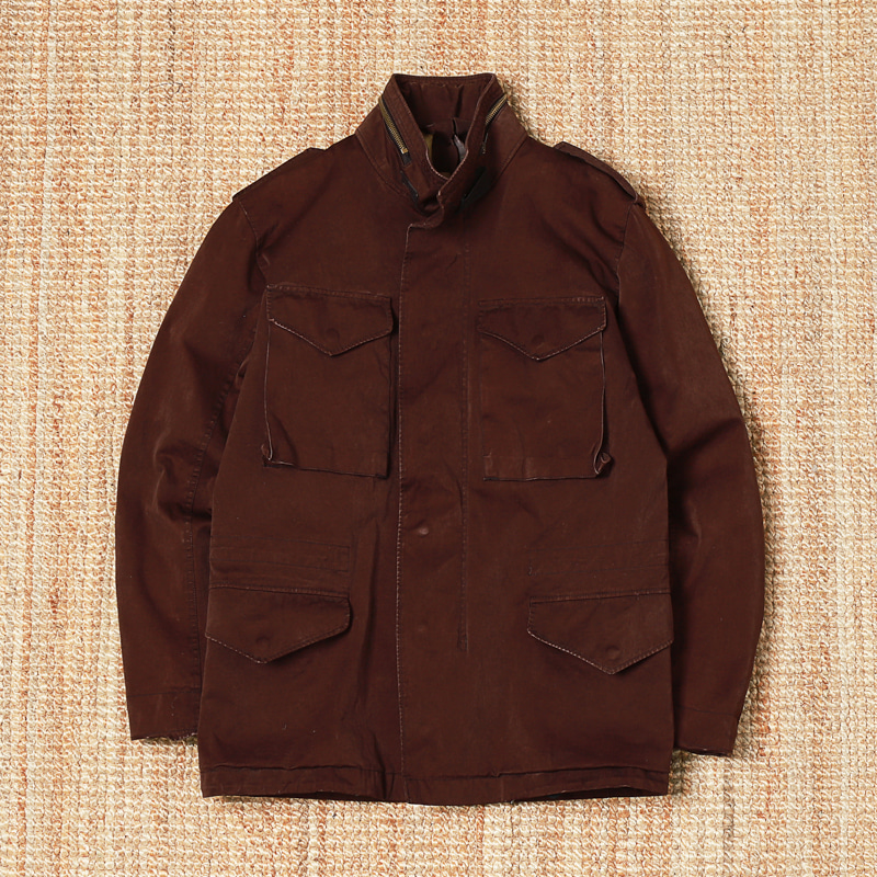 TEN-C M-65 JACKET - BROWN