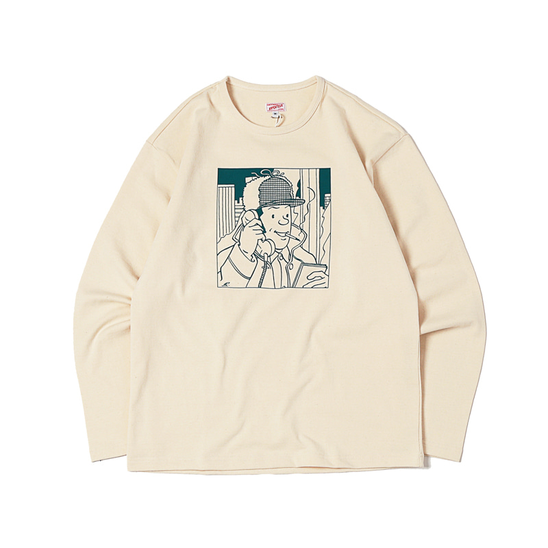 GRAPHIC L/S HEAVY JERSEY - TALKING