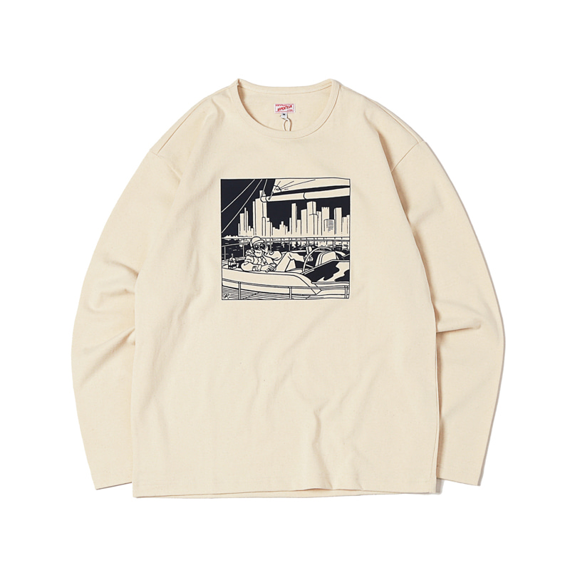 GRAPHIC L/S HEAVY JERSEY - SPOTTING
