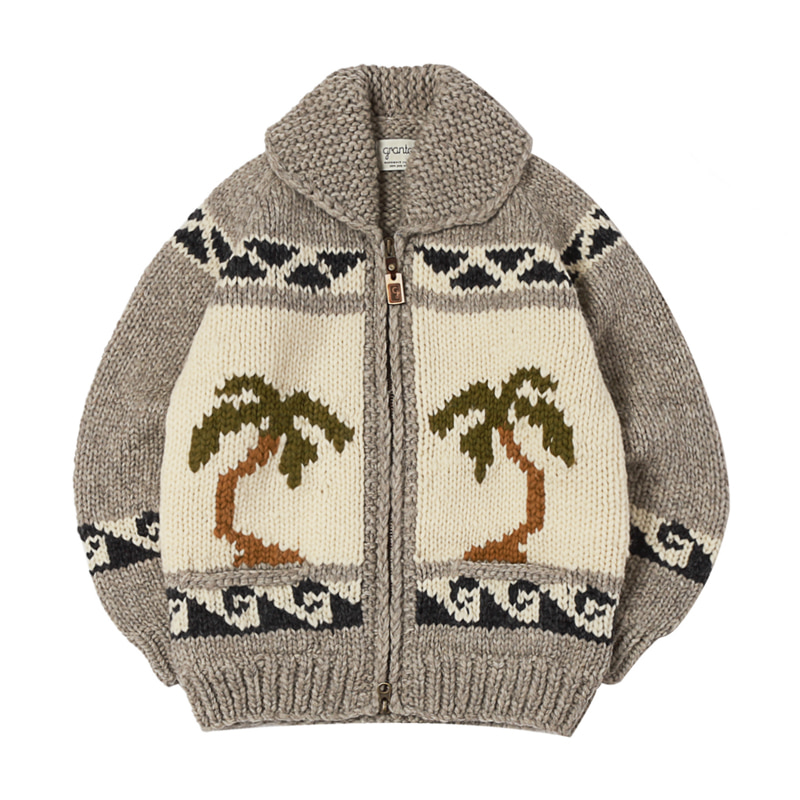 CANADIAN SWEATER - HULA GIRL GREY