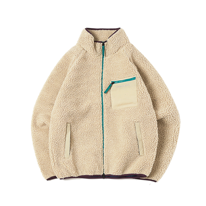 MT GORILLA JACKET - NATURAL