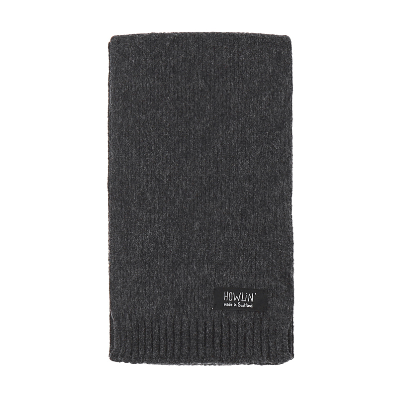 KING JAMMY SCARF - CHARCOAL